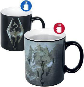 V - Skyrim - Dragon Symbol - motivskiftende motiv