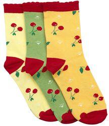 Crazy Summer sokker, 3-pak