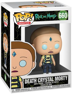 Death Crystal Morty Vinyl Figure 660