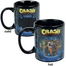 Crash - motivskiftende krus