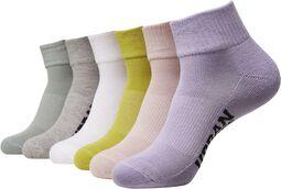 High Sneaker Sokker 6-Pak
