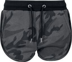 Ladies Camo Hotpants