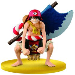 Film Gold SCultures Figure Big Zoukeio Special Luffy