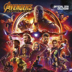 Infinity War - Vægkalender 2019