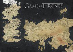 Kort - Westeros & Essos