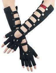 Lange fingerløse handsker