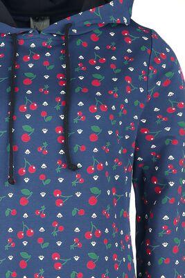 Cat Paws & Cherries Sweatdress