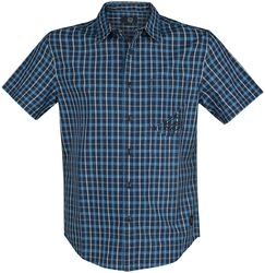 RED Checked Short-Sleeve