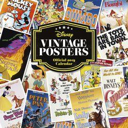 Vægkalender 2019 - vintage plakater