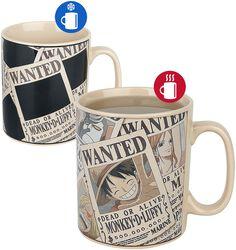 Wanted - varmeskiftende motiv