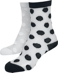 Net Socks Dots 2 par
