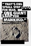 Foot Print On The Moon