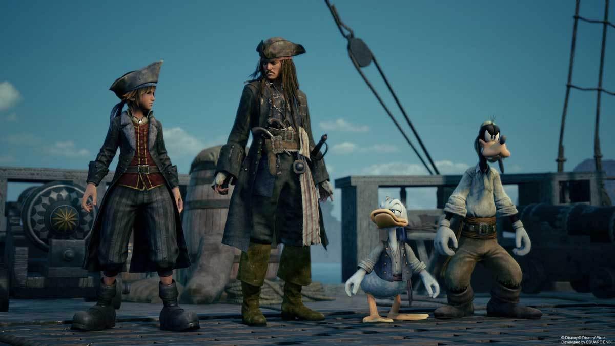Auch Captain Jack Sparrow ist mit am Start.